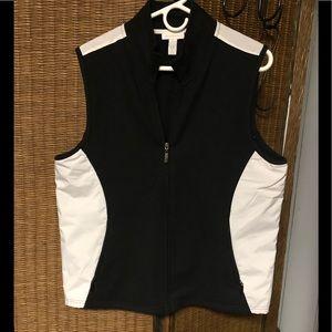 Ladies XL Poly/Fleece Vest- NWOT